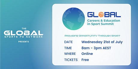 Global Careers & Education in Sport Summit tickets