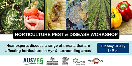 Pest & disease workshop in Ayr and surrounding areas tickets