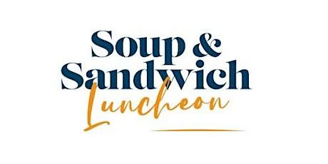 Launceston Friends of Clifford Craig Soup & Sandwich Luncheon tickets