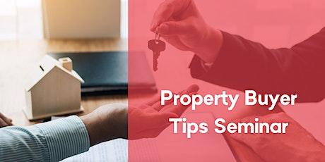 Property Buyer Tips Seminar tickets