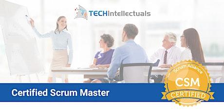 Certified Scrum Master - CSM Certification - Remote Training tickets