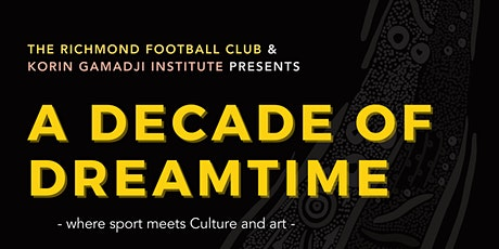 A Decade of Dreamtime tickets
