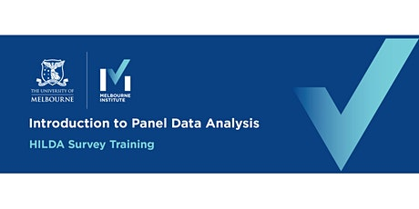 Introduction to Panel Data Analysis tickets