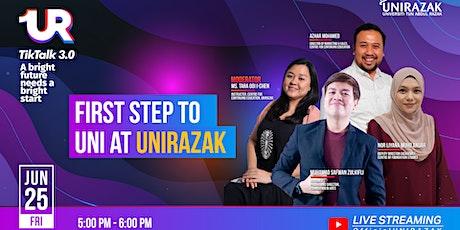 UR TikTalk 3.0 : First Step to UNI at UNIRAZAK tickets