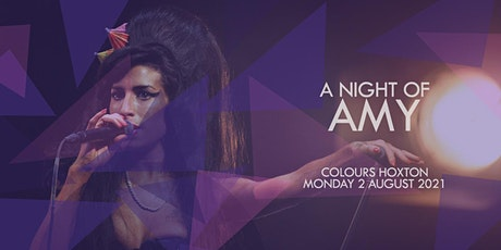 A Night of Amy tickets