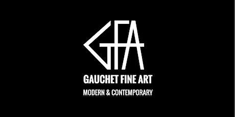 Invitation Vernissage GFA  en présence de l'artiste ALEXANDRE VALETTE billets