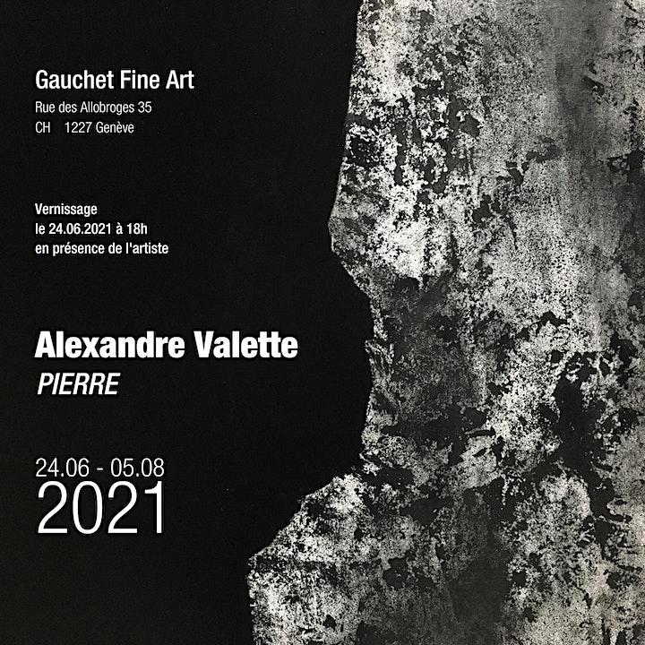 Image pour Invitation Vernissage GFA  en présence de l'artiste ALEXANDRE VALETTE
