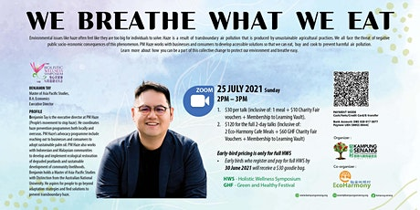 We Breathe What We Eat By Benjamin Tay tickets