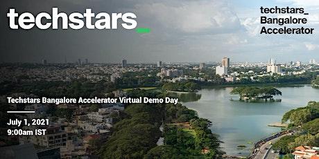 Techstars Bangalore Virtual Demo Day tickets