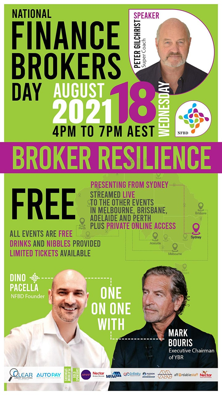 National Finance Brokers Day - PERTH image