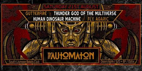 The Automaton NO EXIT Single Release Lismore Invasion tickets