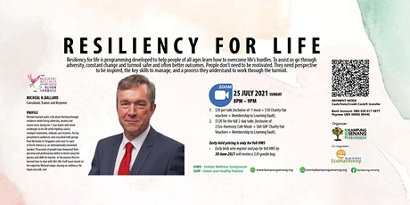 Resilience for Live By Michael H Ballard for Holistic Wellness Symposium biglietti