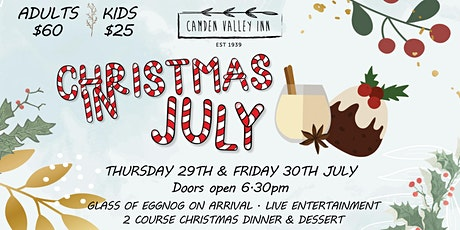 Christmas in July 2021 tickets