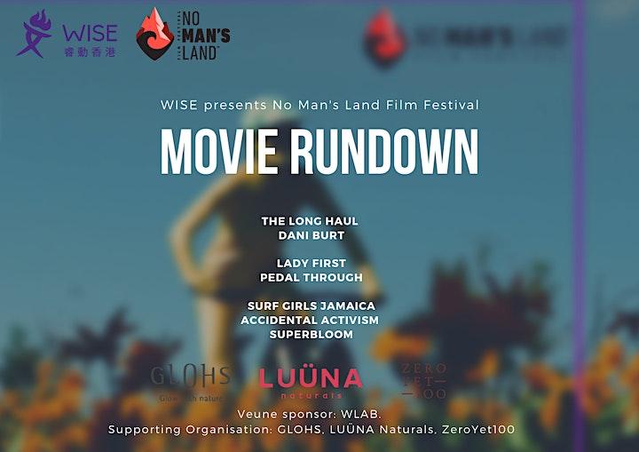 NO MAN'S LAND FILM FESTIVAL - Outdoor Adventure Film Screening Fundraiser image