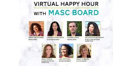 Virtual Happy Hour with the MASC Board biglietti