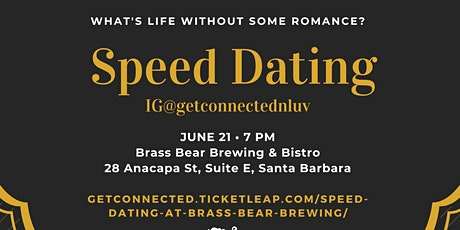 Speed Dating at Brass Bear Brewing tickets