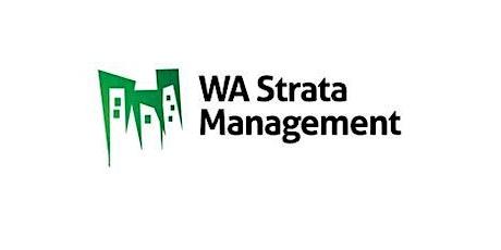 WA Strata Management - Information Session tickets