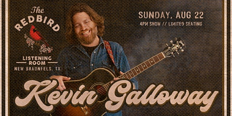 Kevin Galloway of Uncle Lucius @ The Redbird - 4 pm tickets