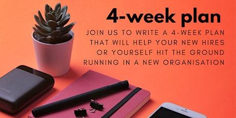 Micro-Workshop: 4-Week Plan tickets