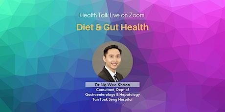 Diet & Gut Health (via Zoom) tickets