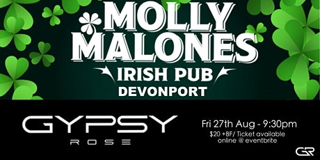 Gypsy Rose at Molly Malones tickets
