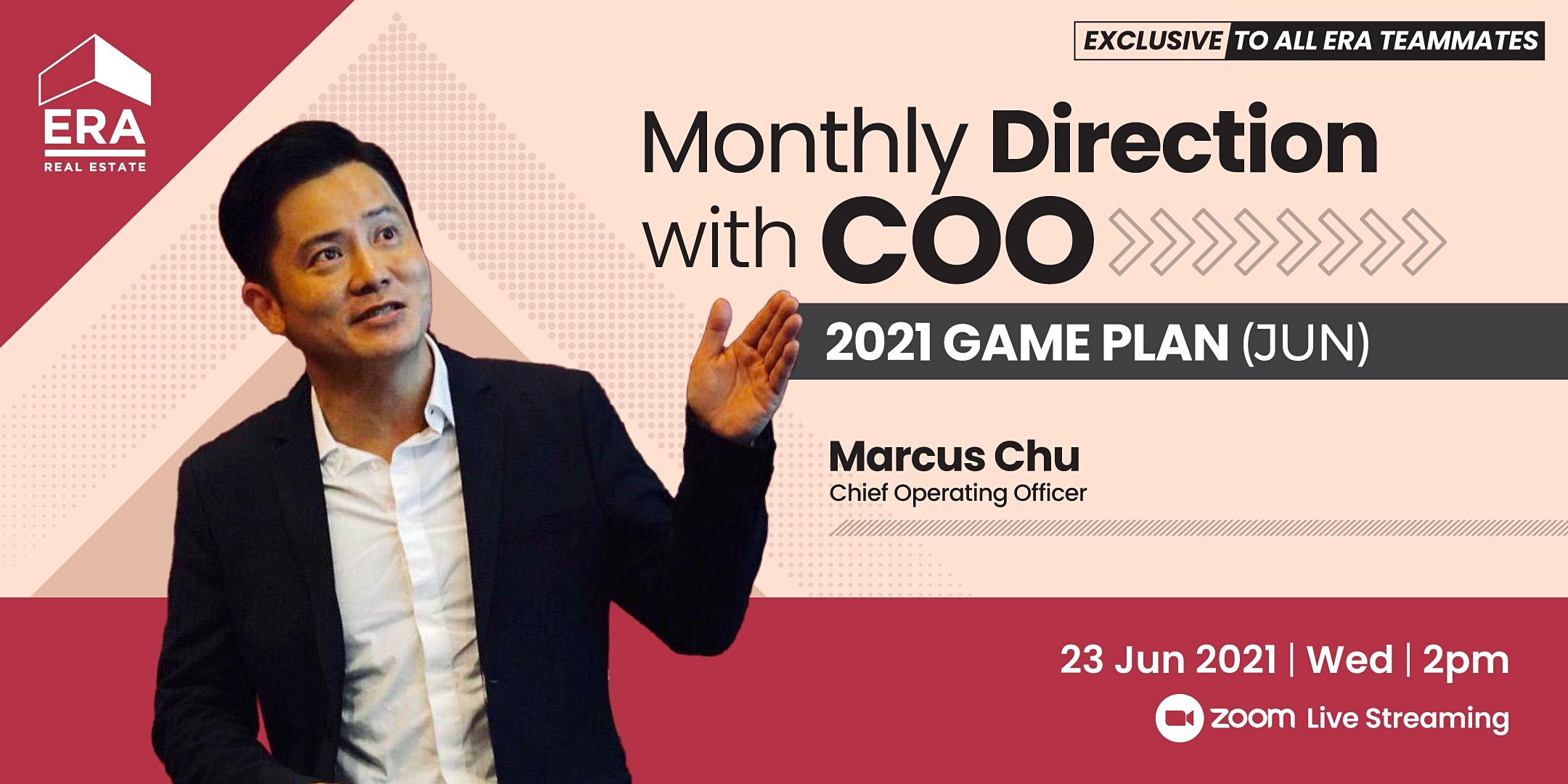 Monthly Direction with COO Marcus Chu