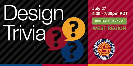 Design Trivia tickets