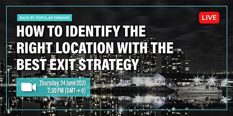 [Webinar] The Best Exit Strategy for Australia Property tickets