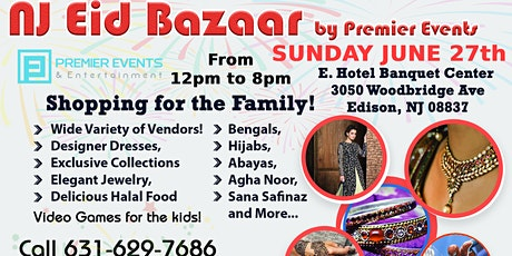 NJ Eid Bazaar at E. Hotel tickets