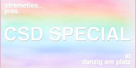 xtremeties: CSD SPECIAL im DANZIG AM PLATZ Tickets