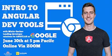 Intro to Angular DevTools w/ Minko Gechev - Angular Dev Relations - Google biglietti