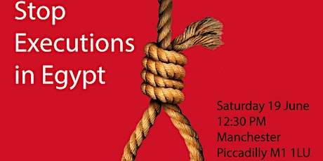 Stop Executions in Egypt tickets