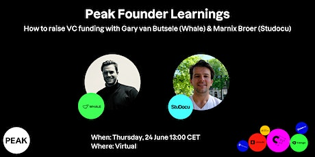 How to raise venture capital funding - learnings by successful founders tickets