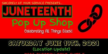 Juneteenth Pop-Up Shop tickets