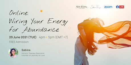 Online: Wiring Your Energy for Abundance tickets