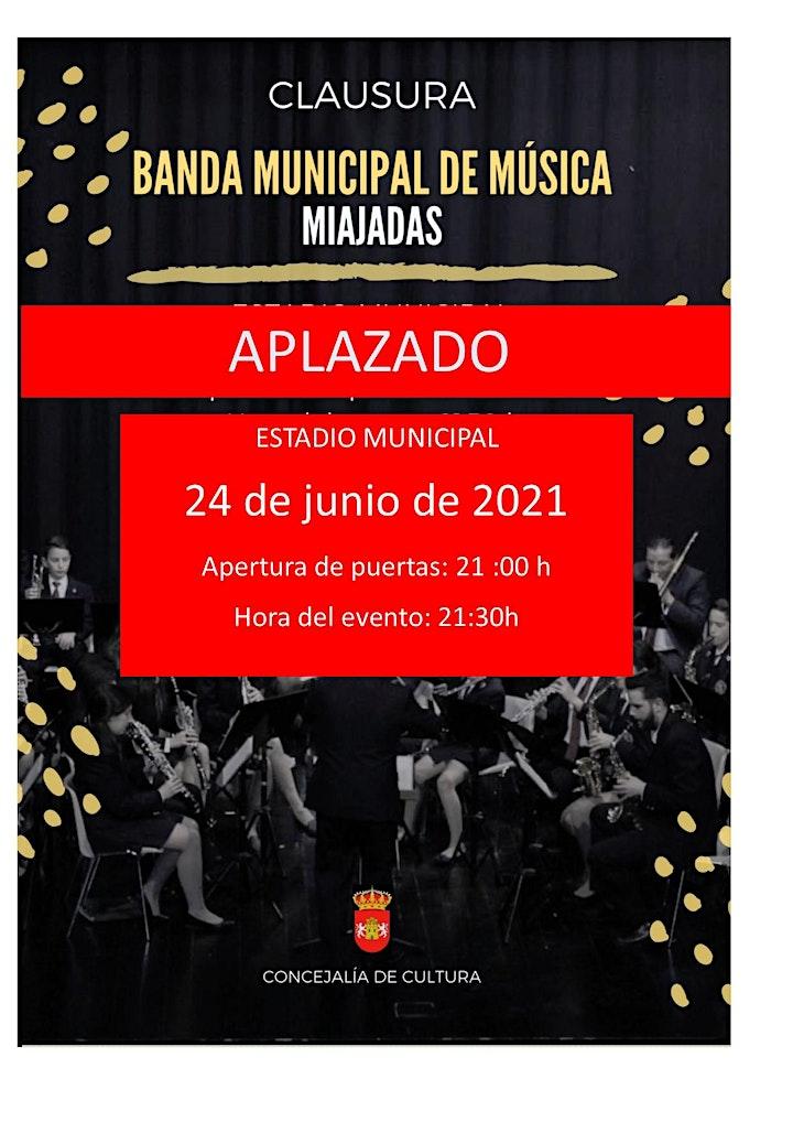 Imagen de Clausura de la Banda Municipal de Música de Miajadas