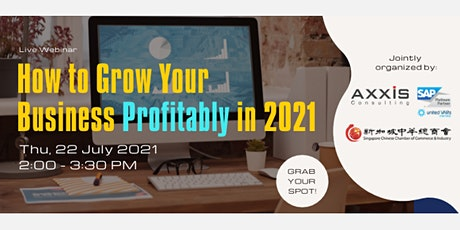 How to Grow Your Business Profitably in 2021 tickets