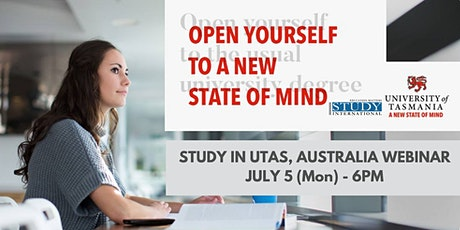 Study online now, study on-campus Tasmania, Australia later! tickets