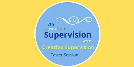 International Supervision Week: Creative Supervision Taster Workshop 1 tickets