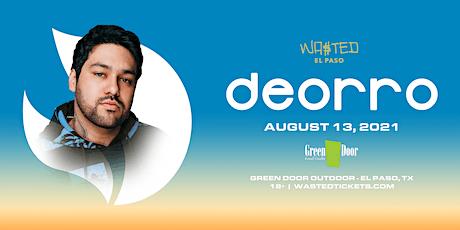 El Paso: Deorro @ Green Door Outdoor - Friday August 13th  [18 & OVER] tickets