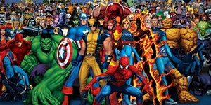 Awesome Superheroes - Capes and Armour