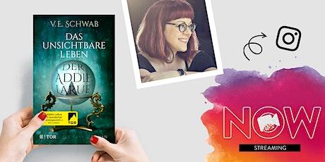"""NOW: V.E. Schwab """"Das unsichtbare Leben der Addie LaRue"""" Tickets"""