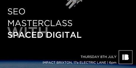 SEO Masterclass with Spaced Digital tickets