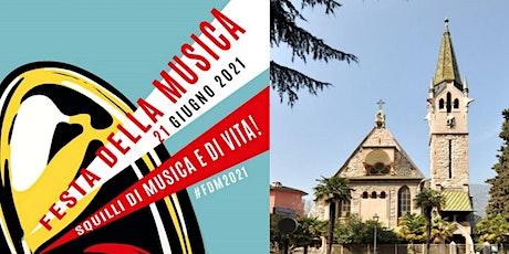 FESTA DELLA MUSICA ALLA CHIESA EVANGELICA DI ARCO biglietti