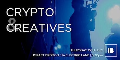 Crypto & Creatives tickets
