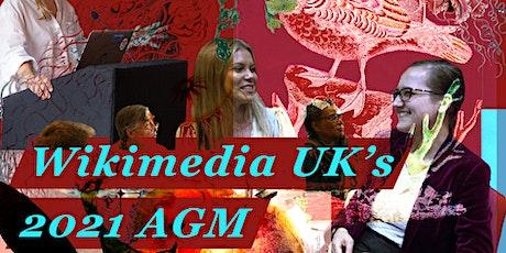 Wikimedia UK's 2021 AGM tickets