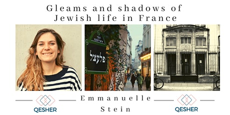 Gleams and shadows of Jewish life in France tickets