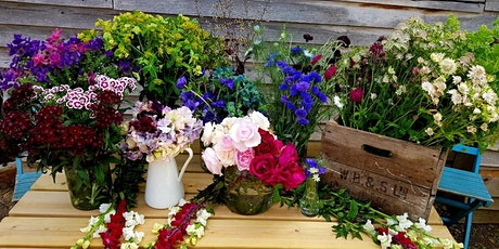 Cut Flower Workshop: Hand tied bouquets and posies tickets