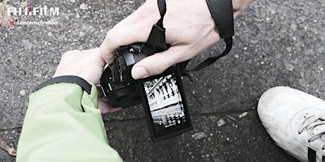 Fujifilm X-System Fotowalk bei Foto Leistenschneider tickets