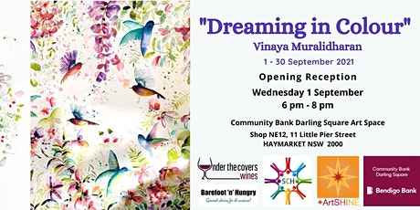 Solo Art Exhibition Opening: Dreaming in Colour by Vinaya  Muralidharan tickets